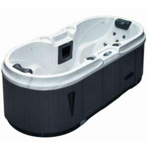 Le spa Bliss Compact est le spa idéal lorsque l'on vit en appartement. Ce spa pour deux personnes a une emprise au sol de seulement 225 x 100 cm, et comprend de nombreuses fonctions.