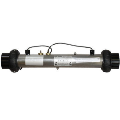 Réchauffeur spiral 2kw Balboa permet de mesurer correctement le débit ainsi que la température de l'eau en continu.
