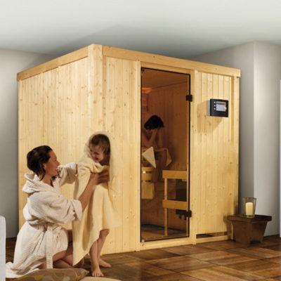 Sauna Sodin : un sauna qui fait entrer la tradition finlandaise dans votre intérieur. Il allie esthétique et plaisir de prendre soin de soi avec une maitrise parfaite de la chaleur.