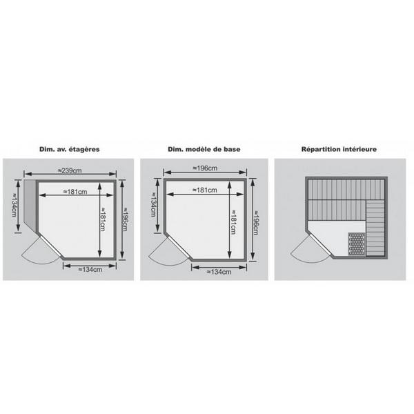 sauna yaro. Black Bedroom Furniture Sets. Home Design Ideas
