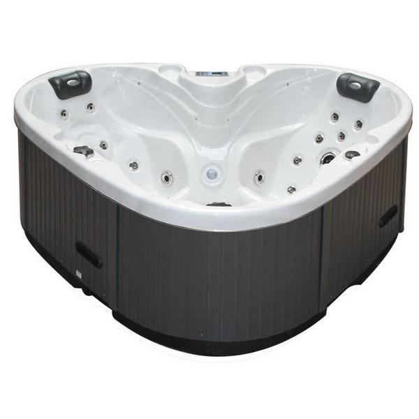 spa heart est le spa id al pour les petits emplacements. Black Bedroom Furniture Sets. Home Design Ideas