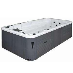 aquatic 1eco : spa de nage avec espace spa detente vendu par sauna-et-spa.com