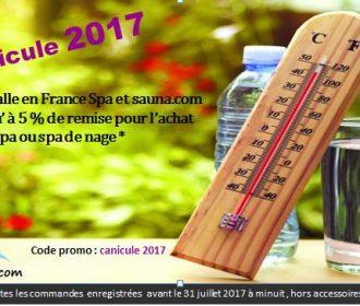 Canicule 2017 jusqu' à 5 % de remise