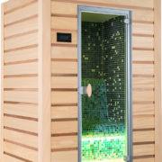 Hool's propose cette cabine multi wap Hammam, vous offrant les vertus d'une salle Hammam dans un espace de moins de 2m²
