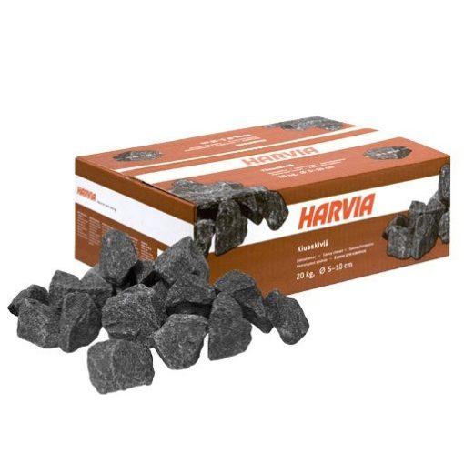 Pack de pierres diabase pour poêle électrique. Quantité 20 Kg diam 5 à 10 cm