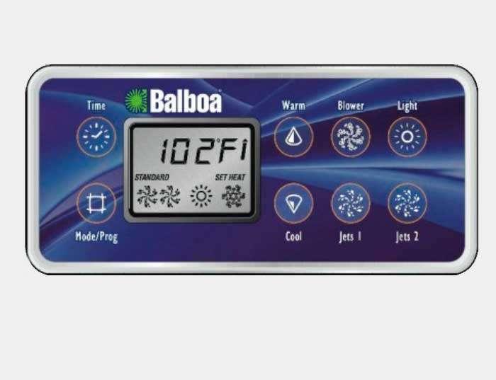 Panneau de commande Balboa Vl 801 d